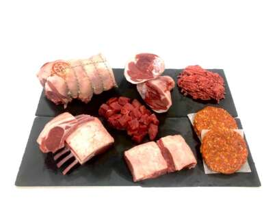 British lamb box - online butchers