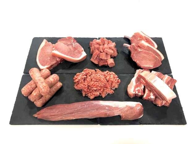 British pork box - online butchers